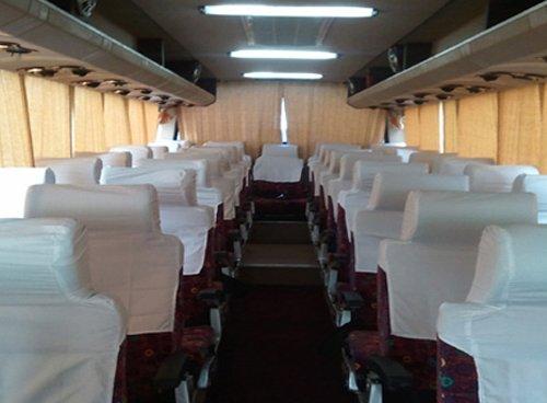 38 seater volvo bus booking in west delhi, volvo bus service in delhi, volvo bus in delhi ncr