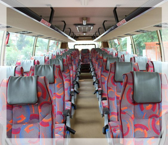 45 seater ac bus service in new delhi , luxury coach bus in west delhi, luxury coach hire in delhi