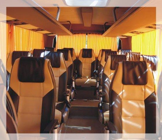 45 seater luxury volvo bus on rent in janakpuri, volvo bus on rent in delhi ncr, ac bus for hire in west delhi