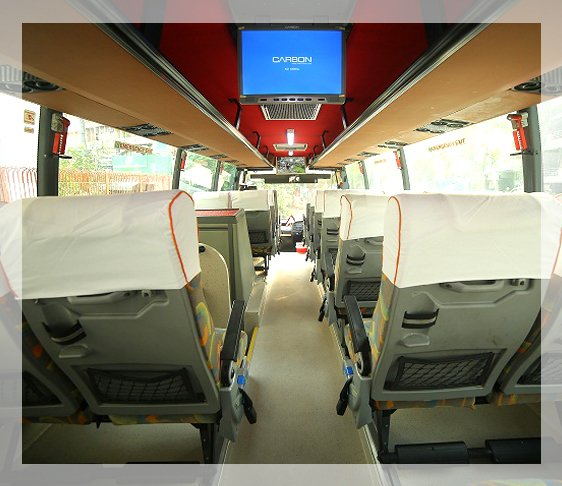 27 Seater Luxury Volvo Bus, 18 Seater luxury volvo bus, online volvo bus booking