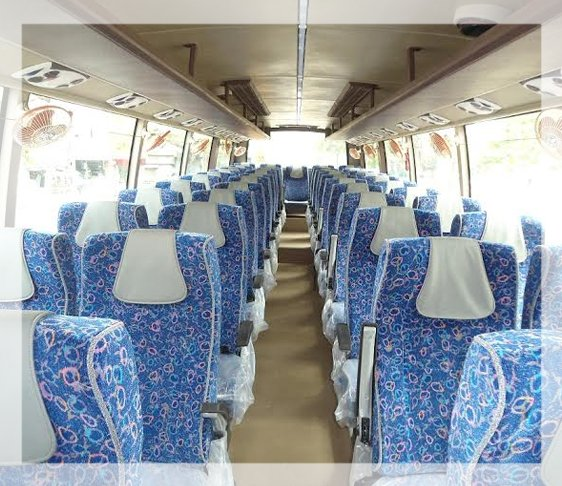 45 seater ac bus service in new delhi , luxury coach bus in west delhi, luxury coach hire in delhi