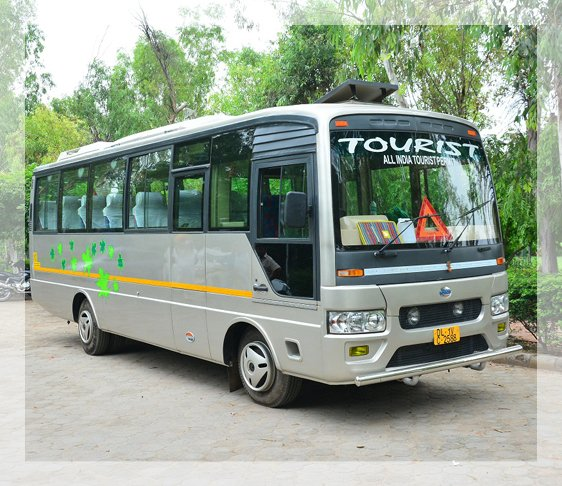 18 seater luxury coach, luxury coaches for hire, coach rental in delhi