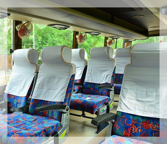 volvo luxury bus, luxury mini coach, coaches for hire