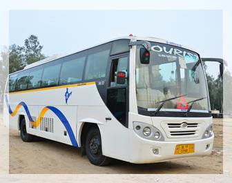 Luxury volvo bus service in Delhi NCR, Volvo bus service in New Delhi, Bus rental in Delhi