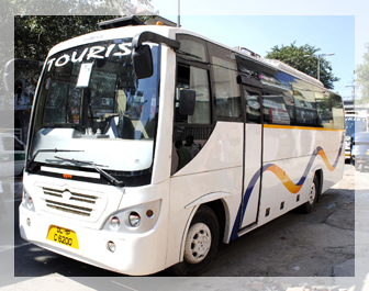 35 seater Bus in Delhi NCR, 35 Seater bus hire in New delhi, Luxury bus hire in Delhi