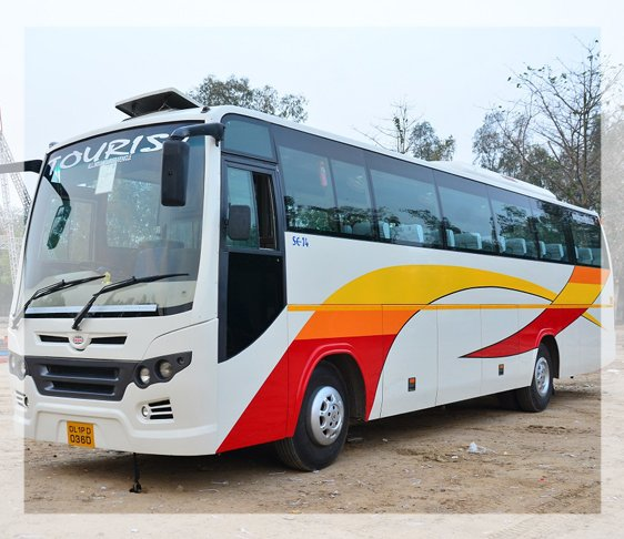 hire a bus in new Delhi, luxury bus hire in delhi NCR, Luxry coach hire in delhi