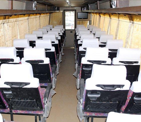 Luxury coach bus in new Delhi, coach bus in delhi, Luxury rental bus in New Delhi