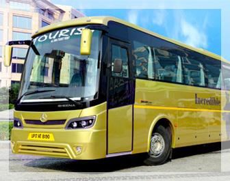 ac bus on rent in delhi, bus on rent, coach rental in delhi