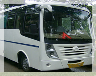 22 seater mini bus hire in delhi, mini bus rental, mini van on rent in delhi