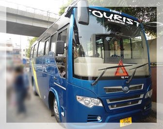 27 seater bus on rent in delhi ncr, sehgal transport in delhi, tourist bus in delhi