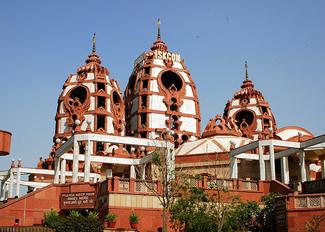 iskcon temple in delhi, temples in delhi, famous temples in new delhi