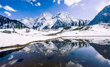 thajiwas glacier in sonmarg, sonmarg weather , best hotels in sonamarg, volvo bus service from delhi to jammu