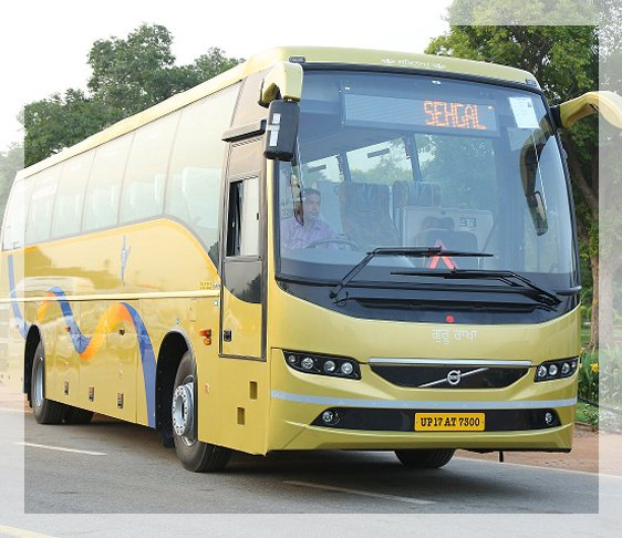 Volvo Bus Booking Luxury Volvo Coach Sehgal Transport