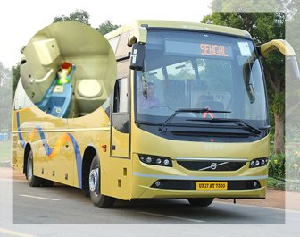 27 Seater Luxury Volvo Bus, 18 Seater luxury volvo bus, online volvo bus booking,